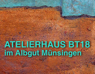Ankündigung der Ausstellung im Albgut Münsingen am 24. März
