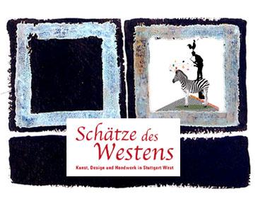 Offenes Atelier am 22.9.2018 bei Schätze des Westens, Stuttgart
